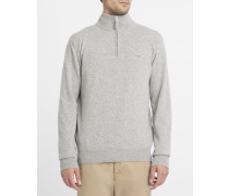 Hellgrauer Pullover Camionneur aus Lambswool