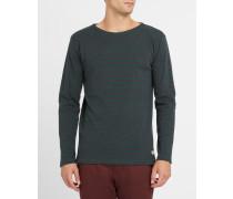 Klassisches Matrosen-T-Shirt 2297 in Marineblau und Grün