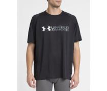 Schwarzes T-Shirt Fade Away