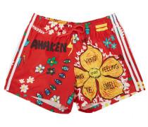 ADIDAS Pharrell Williams Doodle Nylon Shorts