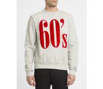 Graues Sweatshirt 60's