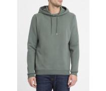 Sweatshirt mit Kapuze Bora in Vintage-Grün