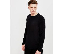 Terry Long Sleeved T-Shirt Black