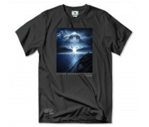 Day & Night Tee T-Shirt schwarz (BLACK)