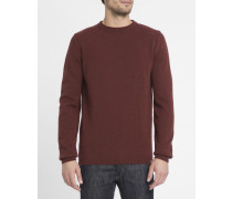 Bordeauxroter Pullover Sigfred Lambswool