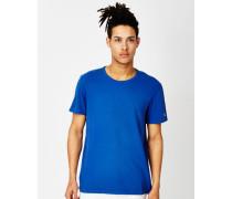 Garment Dyed Classic Short Sleeve Crew T-Shirt Blue
