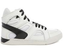 Hohe weiße Sneaker S-Titann