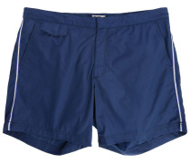 Marineblaue Badehose Side Stripes