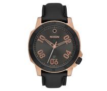 Ranger Uhr schwarz (ROSE GOLD/GUNMETAL)