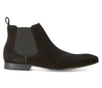 Schwarze Chelsea Boots aus Veloursleder Mulder