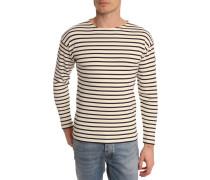 Klassisches Marine-Shirt, weiß und marineblau