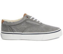 Graue Sneakers Striper