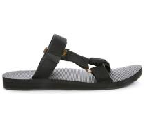 Schwarze Sandalen Universal Slide