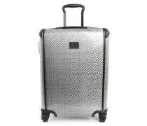 Light-Grey Continental Tegra Light 4-Wheeled Carry-on Suitcase