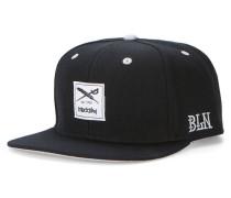 Daily Flag Snapback Cap schwarz (BLACK)