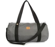 Grauer Duffle Bag aus Nylon