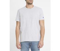 Graumeliertes T-Shirt C