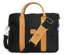 Laptoptasche aus schwarzem Nylon