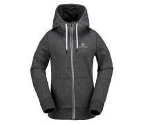 Cascara Fleece Hoody schwarz (BLACK)