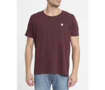 Rotes Basic-T-Shirt Emmett