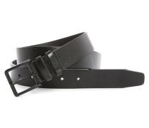 Gürtel aus Leder mit schwarzer Schnalle