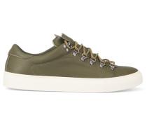 Sneaker Marostico Low aus khakibraunem Leder