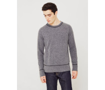 Co Dag Recycled Wool Knit Jumper Grey