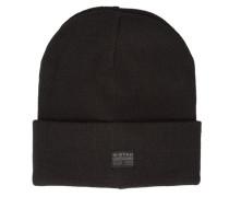 Schwarze Mütze Originals Effo mit Logo