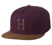 Metal H Cap rot (Burgundy)