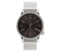 Winston Uhr silber (SILVER-BLACK)