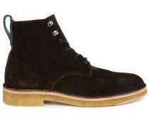 Braune Leder-Boots Echo