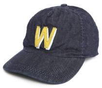 Dunkelblaue Denim-Baseball-Mütze
