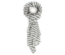 Weiß-grau gestreiftes Halstuch Curtis