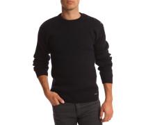 Wollpullover marineblau Fouesnant