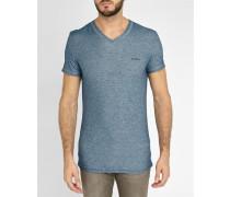 Blaues Underdenim T-Shirt mit V-Ausschnitt Michael