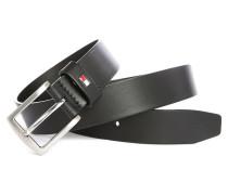 Schwarzer Ledergürtel Denton 3,5