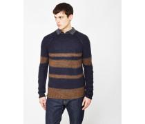 Callan Knitted Jumper Navy