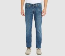 Blaue Slim Jeans 511 Pr Stone Washed