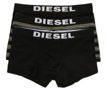 3-Pack of Black and Striped Shawnthreepack Briefs