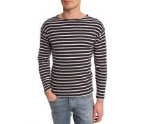 Klassisches Marine-Shirt, marineblau und weiß