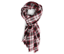Red Check Biface Scarf