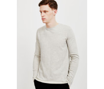 Terry Long Sleeved T-Shirt Grey