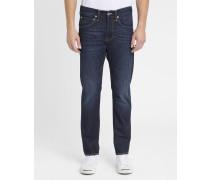 Jeans Tapered ED-55 in ausgewaschenem Blau