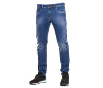 Spider Jeans blau (MID BLUE USED)