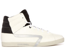 Schwarz-weiße Sneaker Rikklub