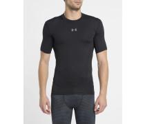 Schwarzes T-Shirt HeatGear SuperVent