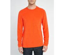 Oranges Langarmshirt