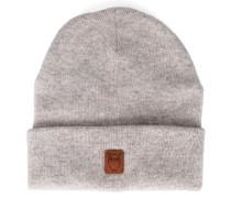 Mütze aus weißer Schurwolle