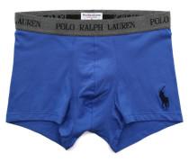 Boxer bleu lavande en coton Stretch