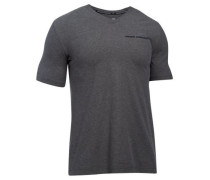 Charged cotton microthread ss v neck